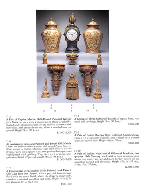 """Sotheby's Property from the Collection of the Late Sister Parish"" 1995"