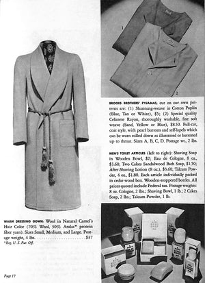 Brooks Brothers Gifts for Men & Boys: Christmas 1945 w/ Paul Brown Cover