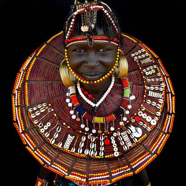 Pokot Young Woman, kenya, 2010