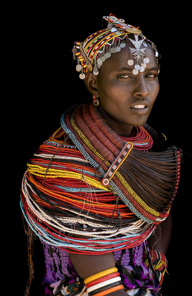 Rendille Woman, Kenya