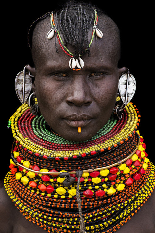 Turkana Woman, Kenya, 2013