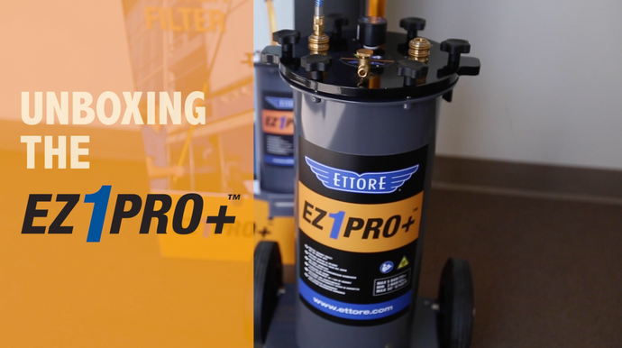 Unboxing the Ettore EZ1 Pro+ Pure Water System