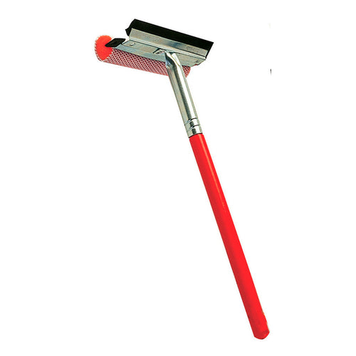 Auto Squeegee Scrubber Wood Handle