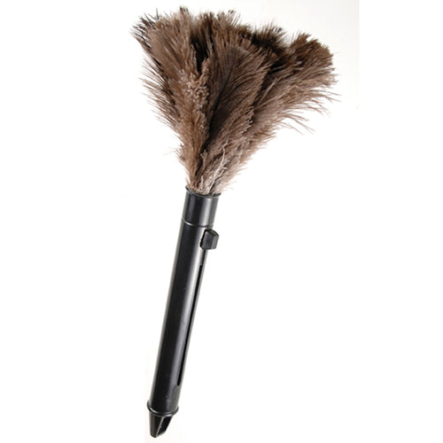 Retractable Ostrich Feather Duster, 11 Inch
