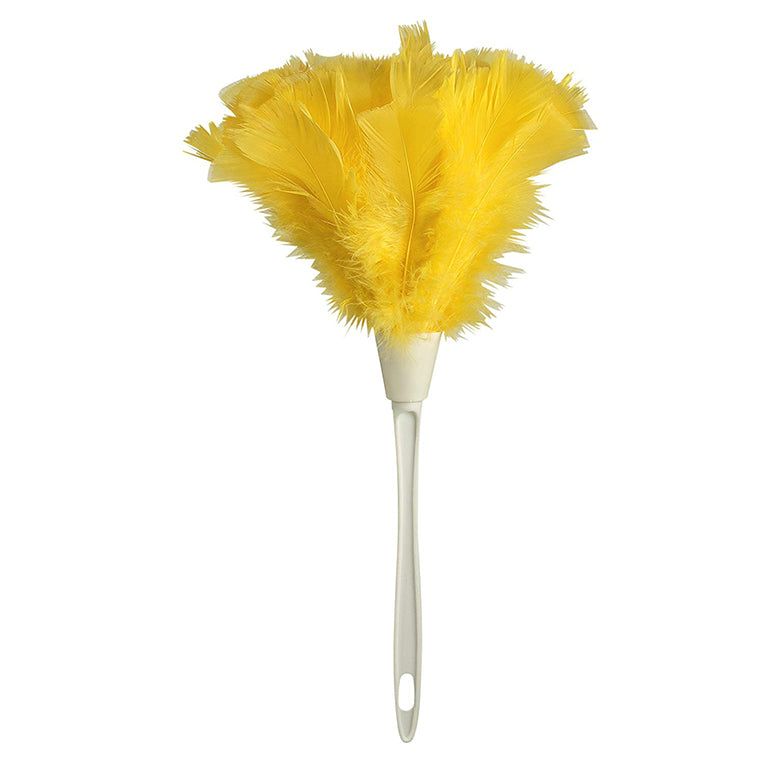 Turkey Feather Duster, 14 Inch