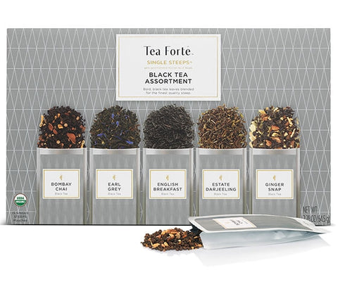 SINGLE STEEPS® SINGLE STEEPS® BLACK TEA ASSORTMENT
