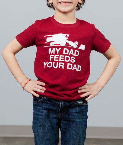 My Dad Feeds Your Dad (Youth/Toddler) T-Shirt