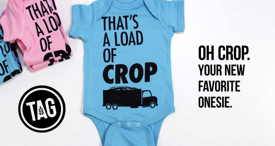 That's a Load of Crop Onesies