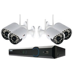LOREX ECO Black Box 960H 4-Channel Stratus DVR with 4 Wireless Cameras