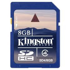 Kingston 8GB Secure Digital High Capacity