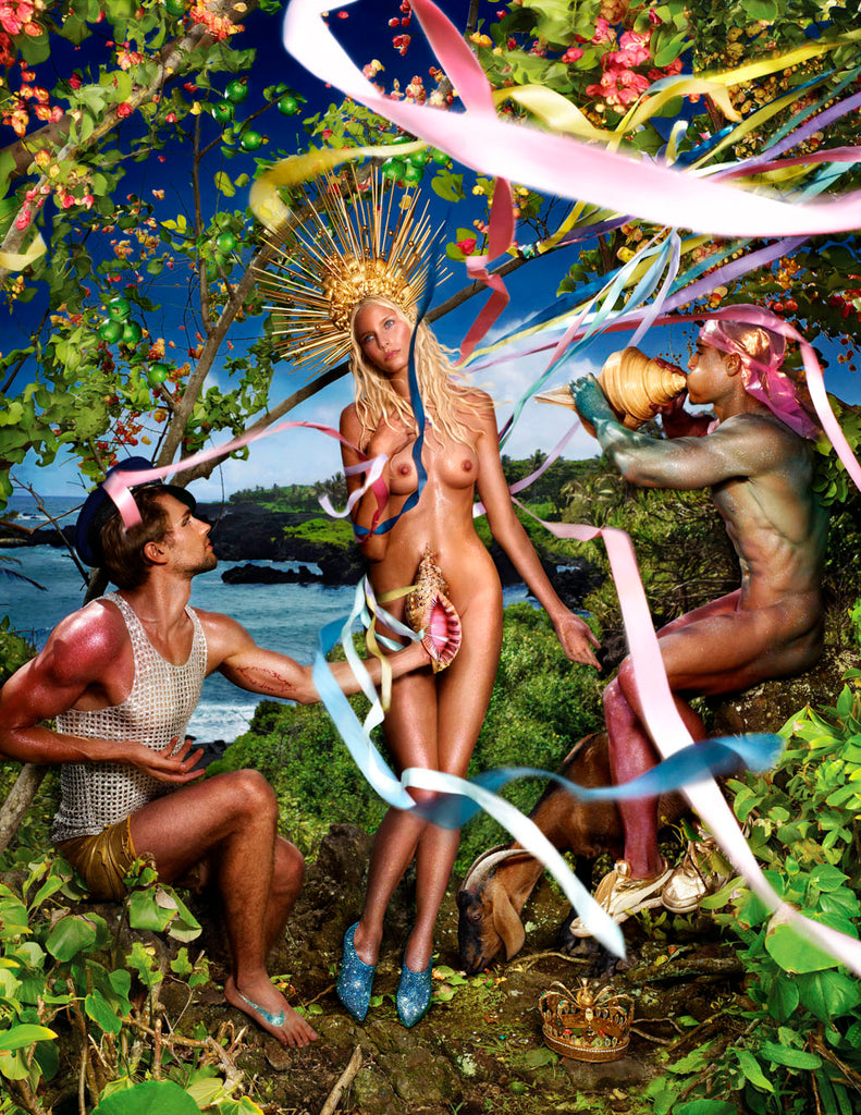 Rebirth of Venus, 2009 by David LaChapelle (c) David LaChapelle