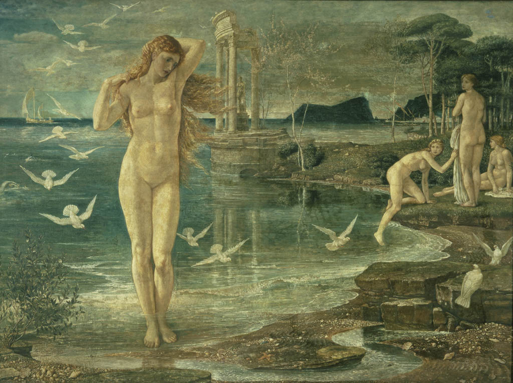 'The Renaissance of Venus' by Walter Crane, 1877, Copyright Tate London 2015