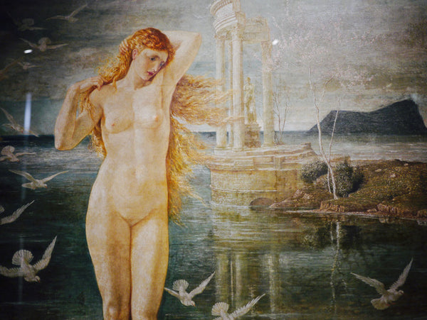 Detail from The Renaissance of Venus, 1877 by Walter Crane
