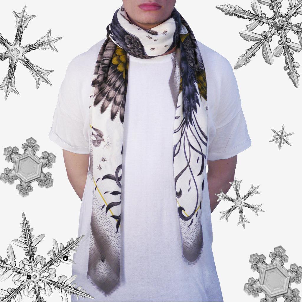 The Phoenix Fine Wool Scarf by Emma J Shipley is the ideal gift of style and warmth this Christmas.