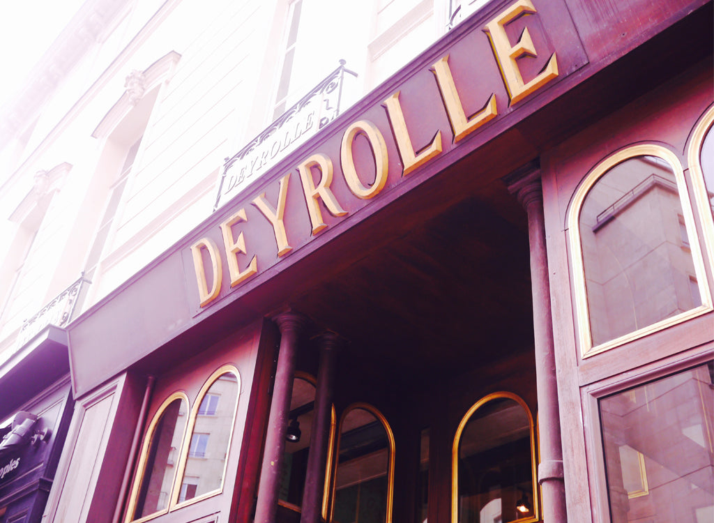 The entrance to Deyrolle is understated, not giving away what's to come...