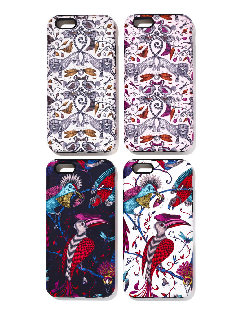 Emma J Shipley phone case designs with Swag My Case