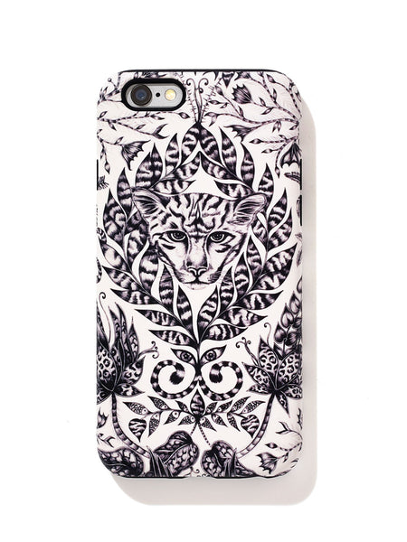 Tiger cat luxury phone case design