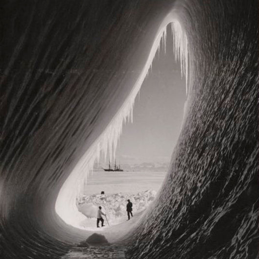 Beautiful documentary photographs discovered during our trip to the Polar Museum show just how magnificent the icy realms of the Earth are.