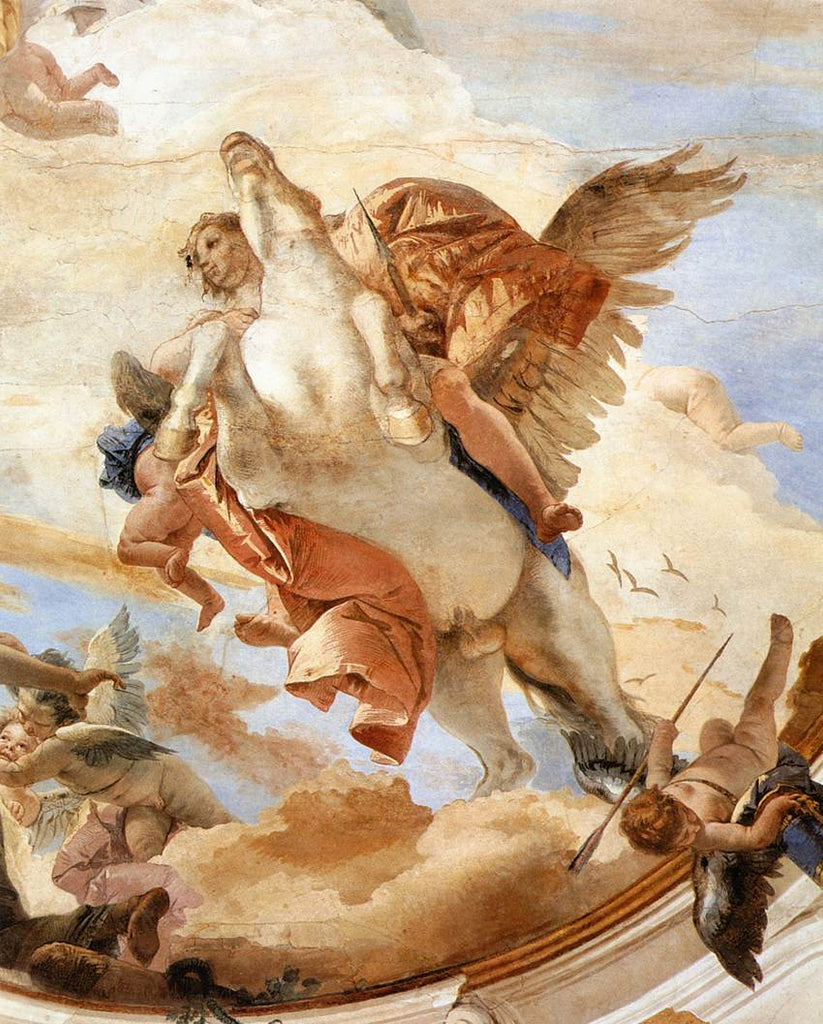 Artist credit: Giovanni Battista Tiepolo - Bellerophon on Pegasus, 1746 - 1747