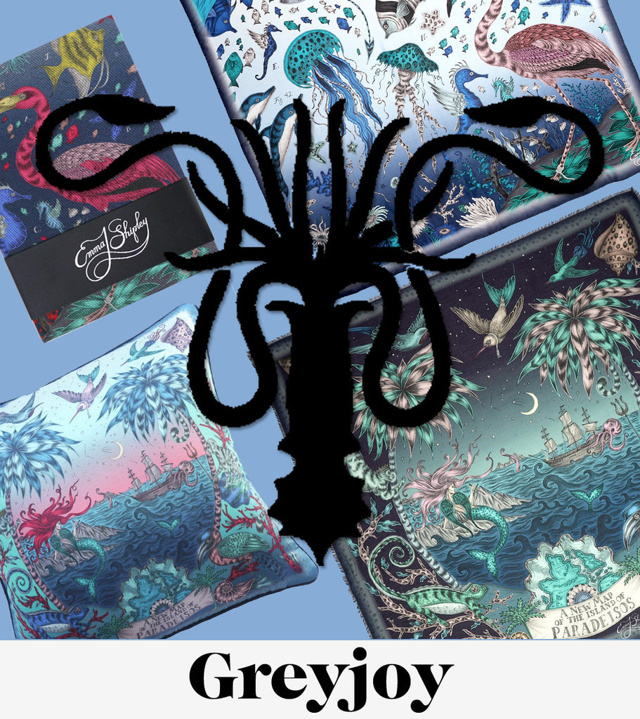 A House Greyjoy inspired collection of gifts from Game of Thrones, by Emma J Shipley.