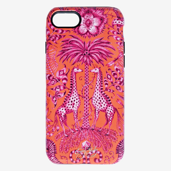 The Kruger Phone Case and Audubon Phone case feature best selling animalistic designs hand drawn by Emma J Shipley