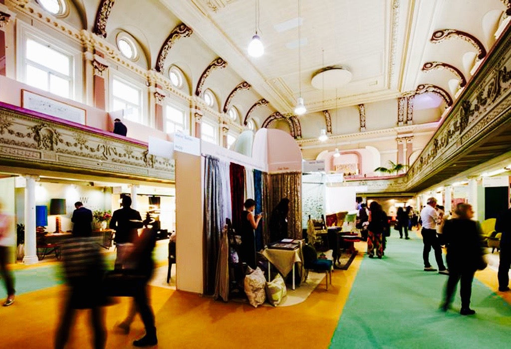The LuxuryMade show in the Pillar Hall of Olympia.