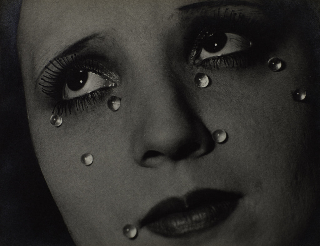 Man Ray 1890-1976 Glass Tears 1932 Photograph, gelatin silver print on paper 229 x 298 The Sir Elton John Photography Collection © Man Ray Trust/ADAGP, Paris and DACS, London 2016
