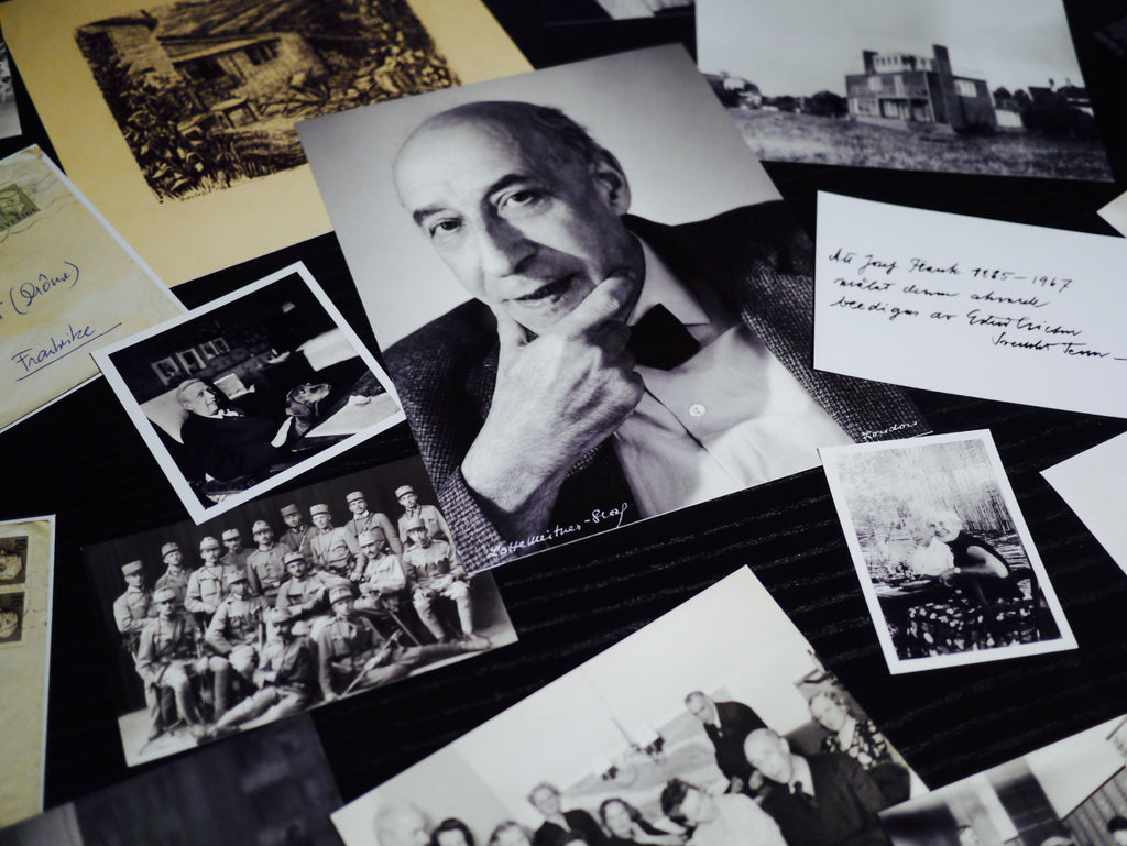 A collection of photographs, documents and letters depicting Frank's inspirational life.