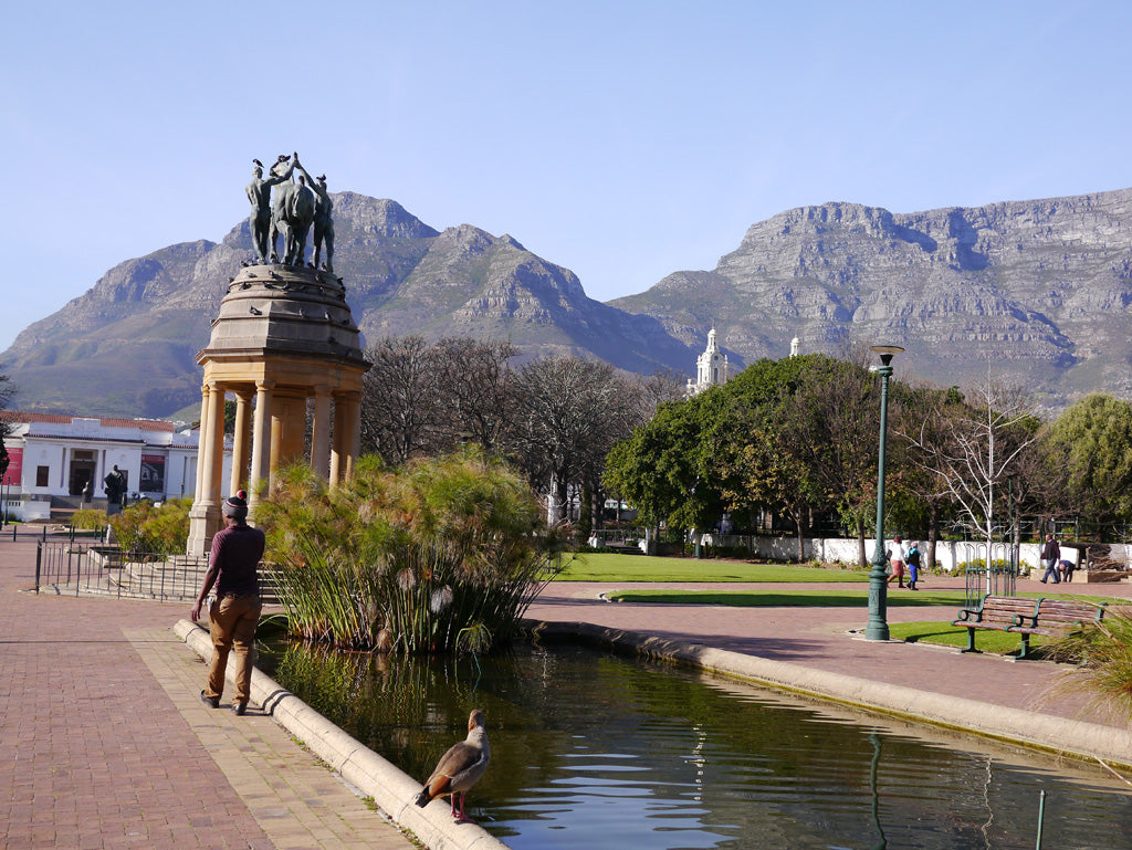 Company's garden; the setting of both the Iziko National Museum and National Gallery