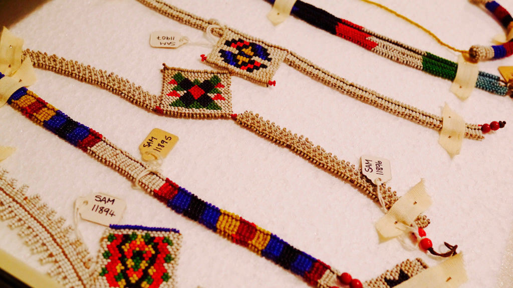 Beautiful Zulu beadwork in the archive