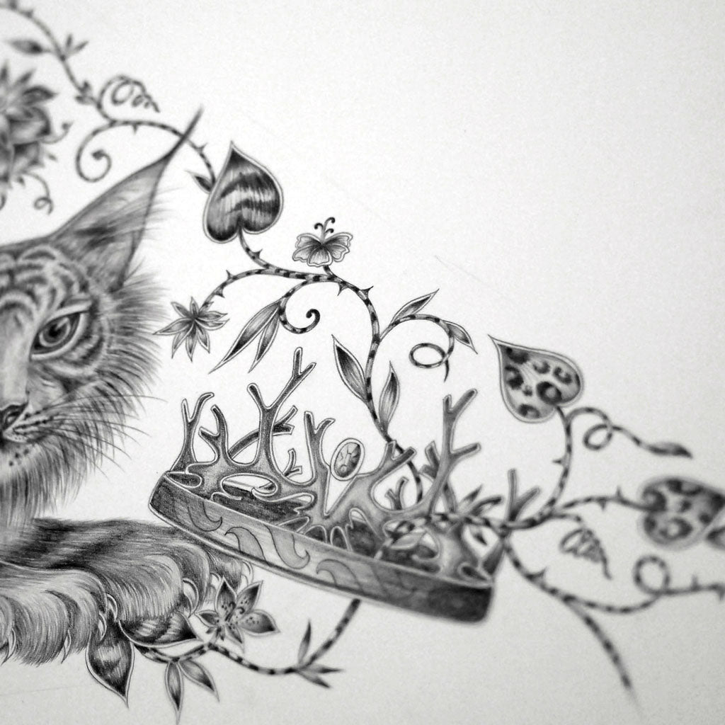 Emma J Shipley Shadowcats drawing detail