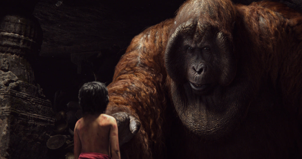 The Jungle Book's Mowgli and King Louie. Mowgli and Bagheera embark on a captivating journey in 'The Jungle Book', an all-new live-action epic adventure about Mowgli, a man-cub raised in the jungle by a family of wolves, who is forced to abandon the only home he's ever known. In theatres April 15 2016. Copyright 2015 Disney Enterprises, Inc. All rights reserved.
