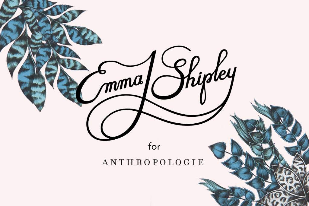 In collaboration with Anthropologie, this Emma J Shipley small collection will give your table the touch of jungle magic and exoticism it absolutely needs!