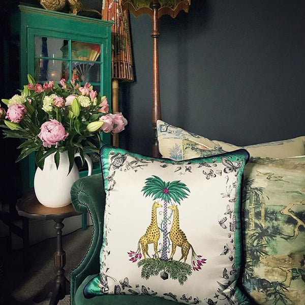 <b>The Emma J Shipley cushions are a fuss free way of introducing print and pattern into your interiors</b>