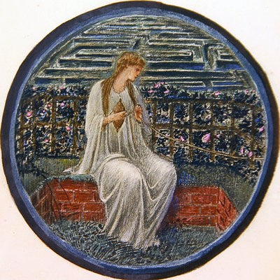 love in a tange edward burne jones