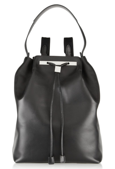 The Row leather rucksack