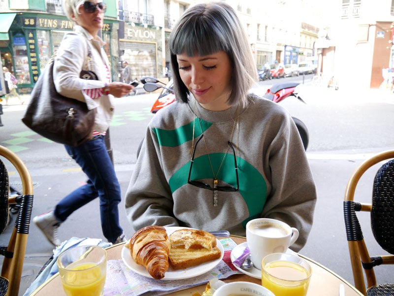 Emma J Shipley paris fashion week breakfast