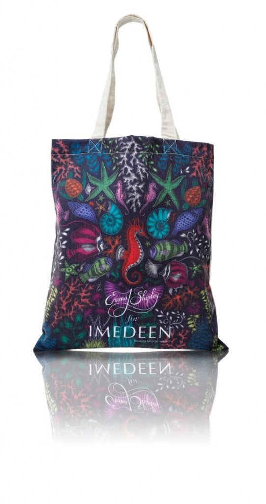 Emma J Shipley for Imedeen tote bag