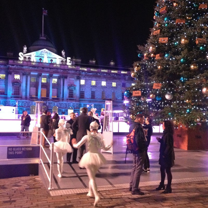 Emma J Shipley Fortnum and Mason Skate Somerset House