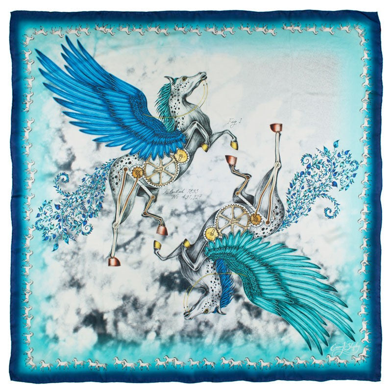 Emma J Shipley Aesop Collection Pegasus Scarf