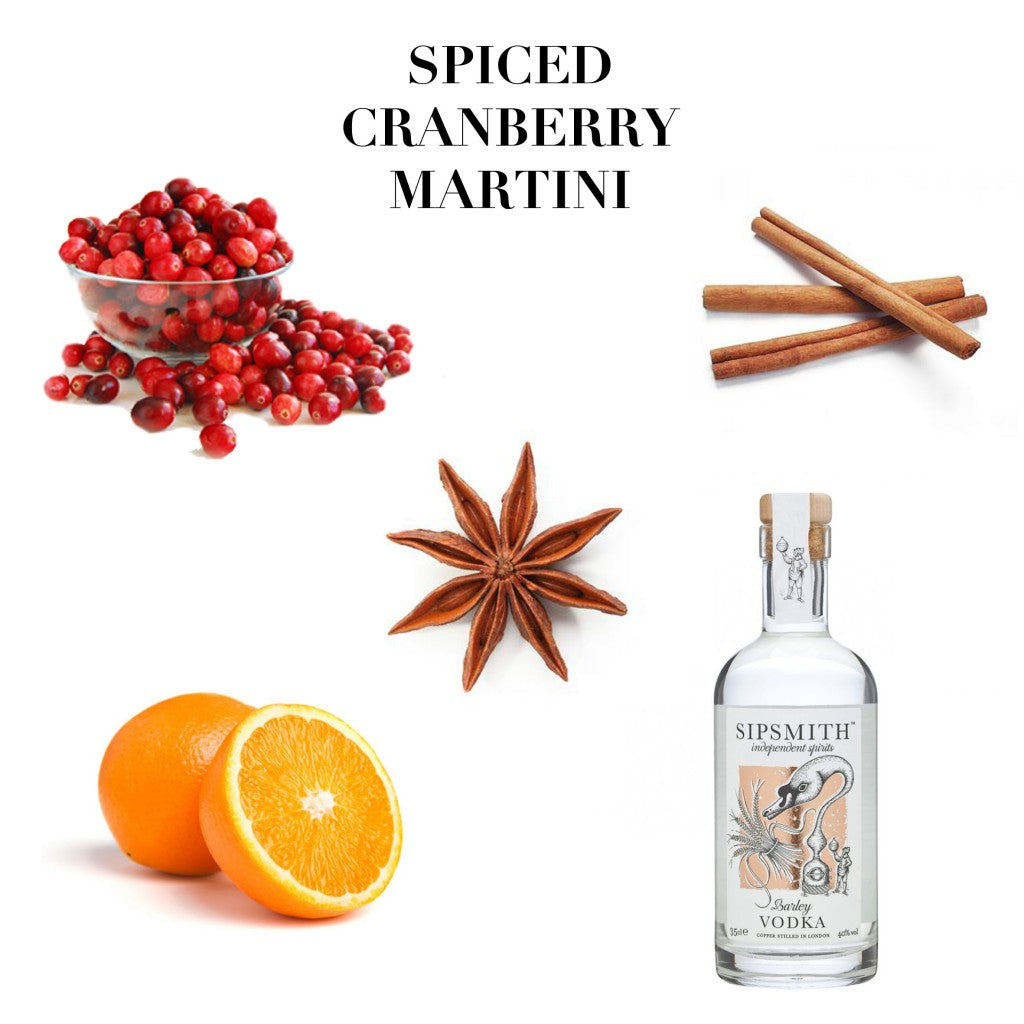 Emma J Shipley Christmas Guide Spiced Cranberry Martini