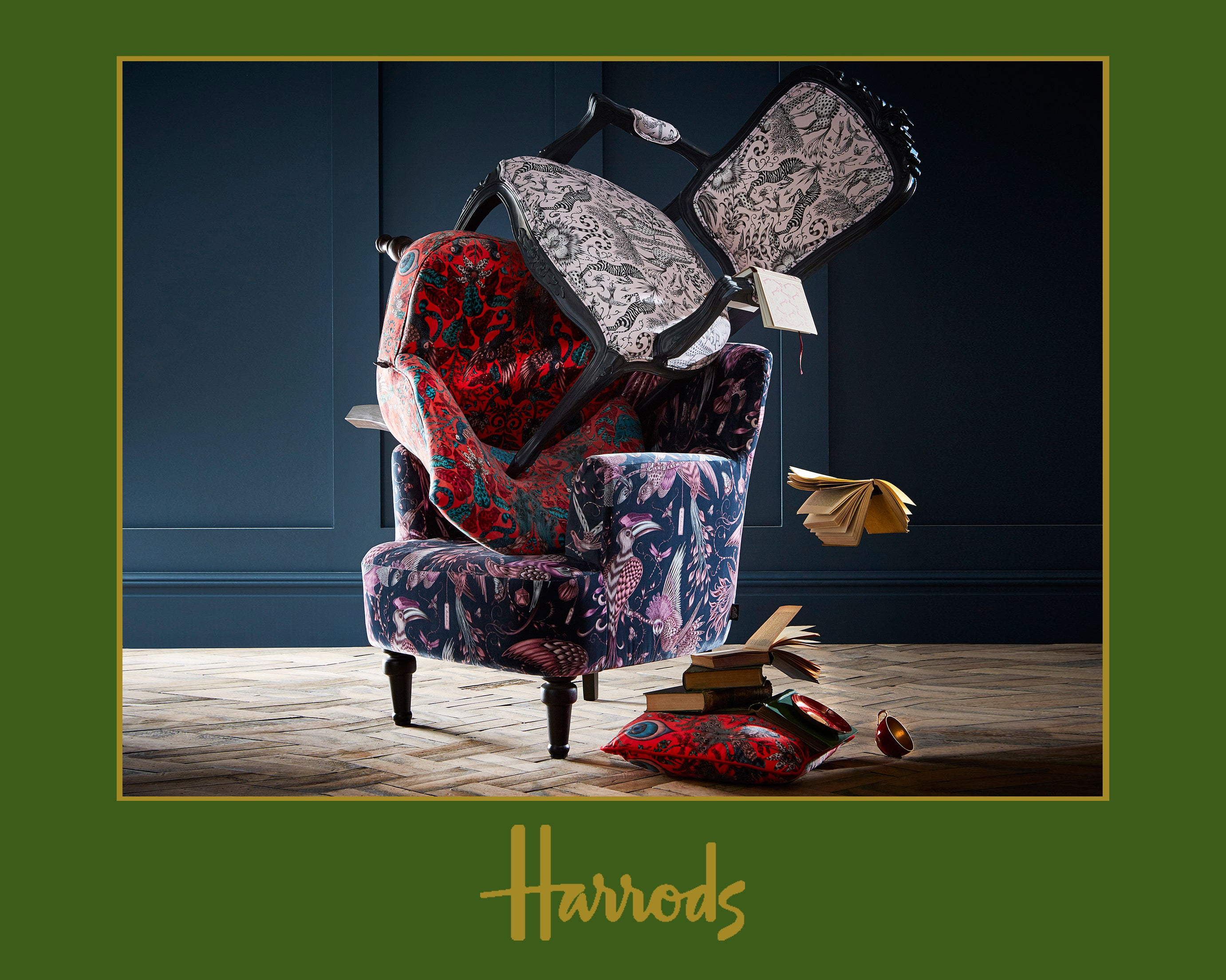 Weu0027re Delighted To Reveal Our Brand New Range Of Stunning Upholstered  Furniture Made In Collaboration With Interior Experts Clarke U0026 Clarke.
