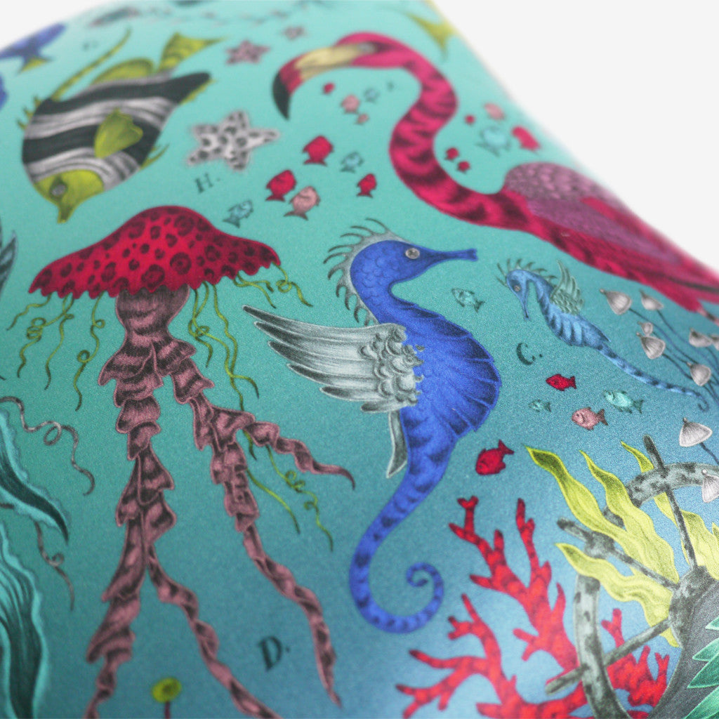 Underwater themed cushions and pillows by Emma J Shipley