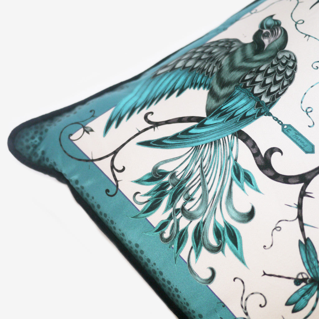 Bring some woodland magic to your home with the Audubon pillow