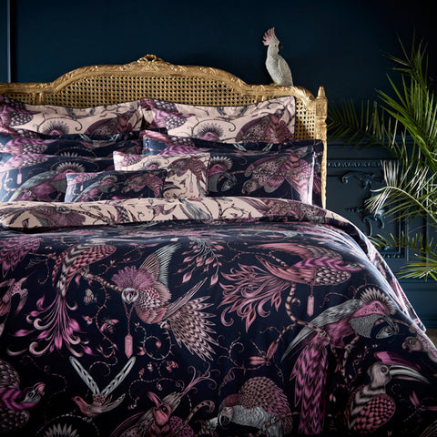 Audubon Boudoir Pillowcase - Pink