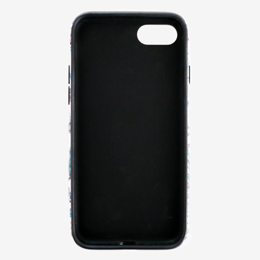Limited edition matte finish phone case designed by Emma J Shipley
