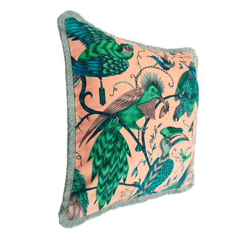 Audubon Luxury Velvet Cushion