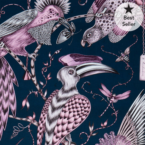 *PRE-ORDER* Audubon Cotton Satin Fabric