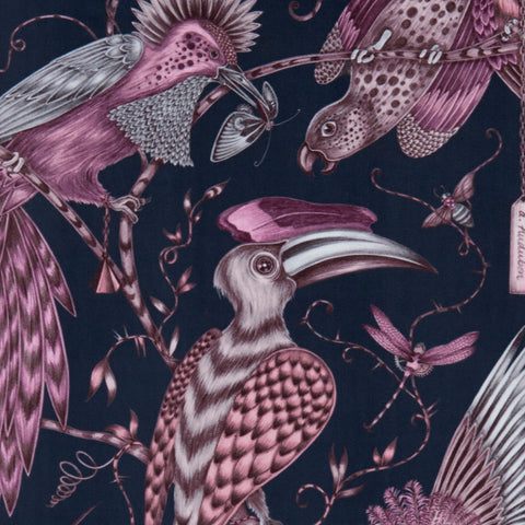 The Audubon velvet fabric designed by Emma J Shipley x Clarke & Clarke