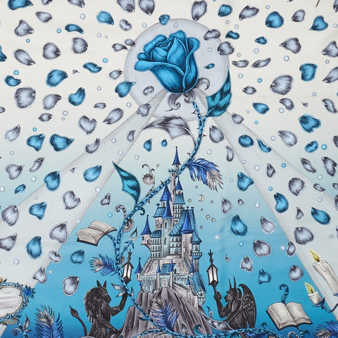 Beauty and the Beast Classic Silk Scarf